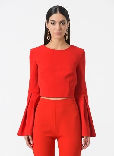Esra Gürses Bluz Kırmızı